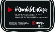 Quedate en casa –  Universidad Nacional de Quilmes