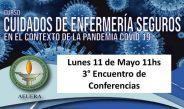 Cuidados de enfermería seguros en el contexto de de la pandemia Covid-19 – AEUERA #UNQtv Parte 3